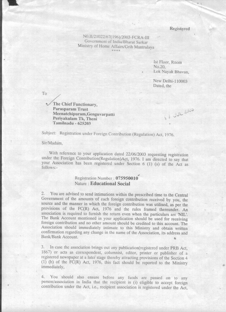 Paraparam_FCRA_page1