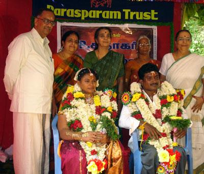 Marriage made by Parasparam