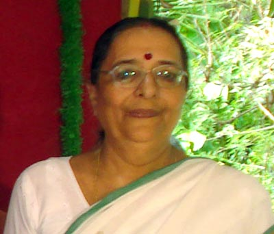 Photo: Mrs. Ramaa Natarajan