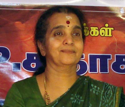 Photo: Mrs. Shanthi Narayanan
